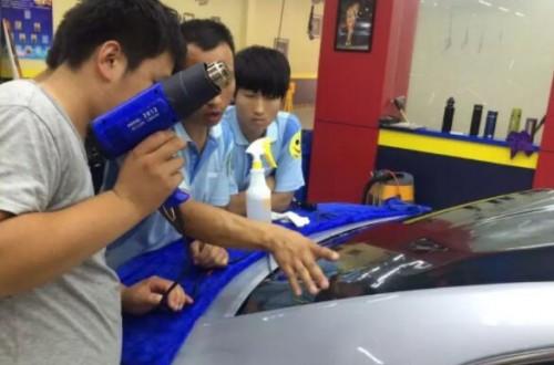 汽车贴膜一定要注意的事