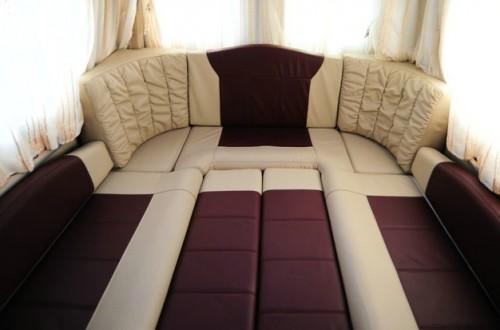 后排折叠沙发床改装