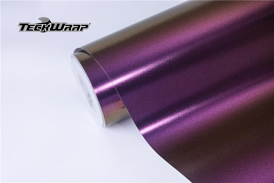 亚面钻石紫魅金汽车保护膜 第6张-汽车内饰翻新-座椅改装-漆面保护贴膜-品牌隐形车衣 | 名车汇