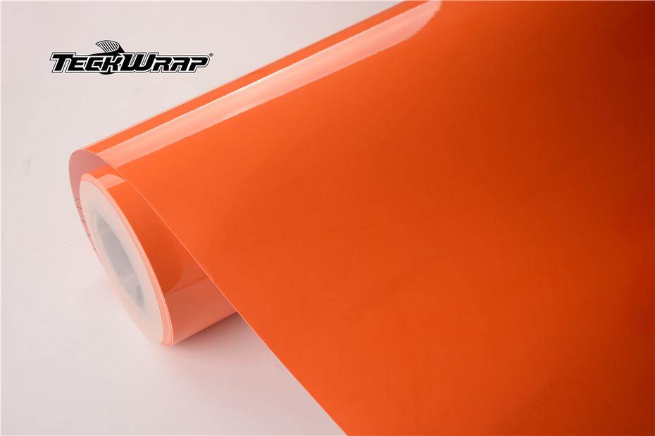 高亮热带橙汽车保护膜 第1张-汽车内饰翻新-座椅改装-漆面保护贴膜-品牌隐形车衣 | 名车汇