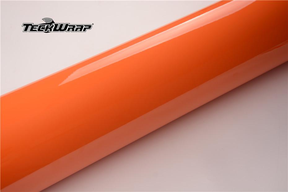 高亮热带橙汽车保护膜 第3张-汽车内饰翻新-座椅改装-漆面保护贴膜-品牌隐形车衣 | 名车汇