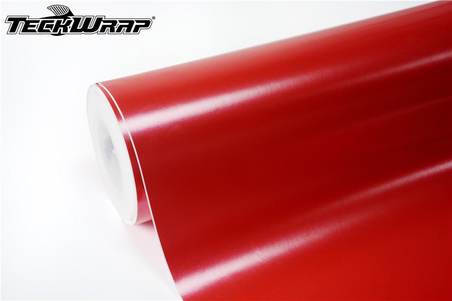 电光激情红汽车保护膜 第3张-汽车内饰翻新-座椅改装-漆面保护贴膜-品牌隐形车衣   名车汇