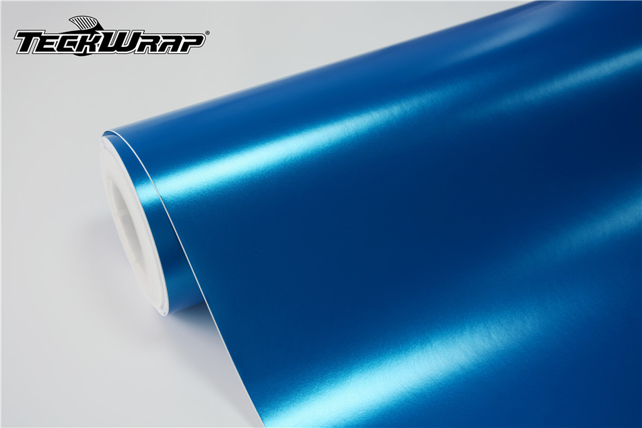 电光金属蓝汽车保护膜 第2张-汽车内饰翻新-座椅改装-漆面保护贴膜-品牌隐形车衣 | 名车汇