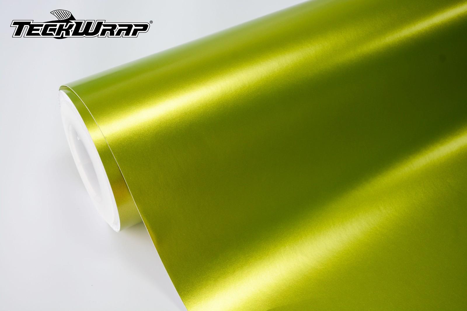电光柠檬绿汽车保护膜 第3张-汽车内饰翻新-座椅改装-漆面保护贴膜-品牌隐形车衣   名车汇