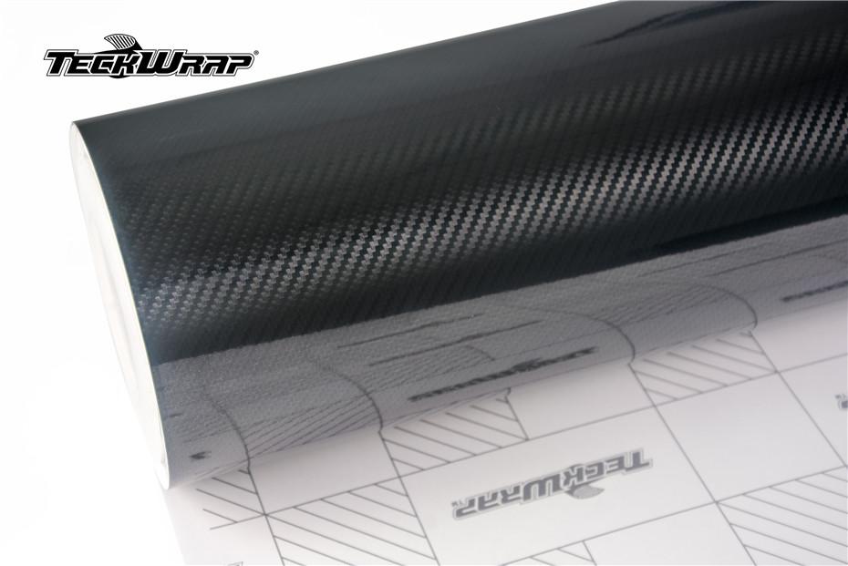 高亮3D黑色碳纤膜汽车保护膜