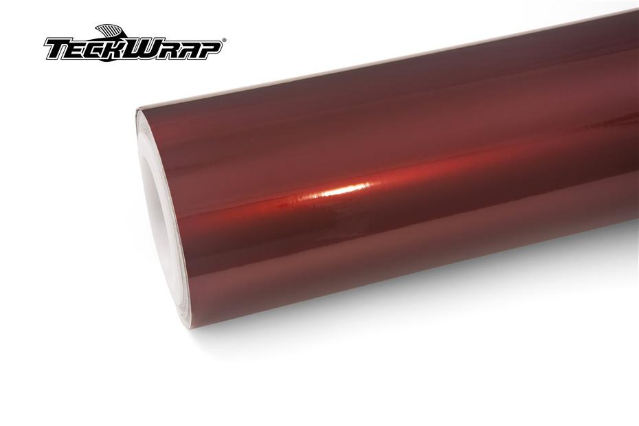 水晶樱桃红汽车保护膜