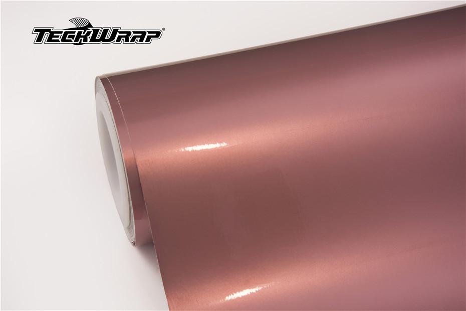 水晶玫瑰金汽车保护膜