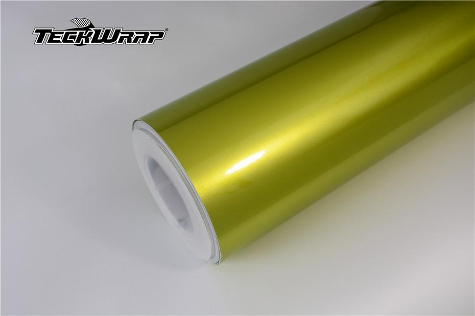 水晶柠檬绿汽车保护膜