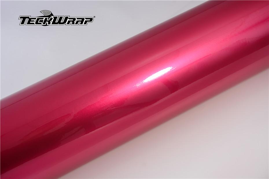 水晶玫瑰粉汽车保护膜