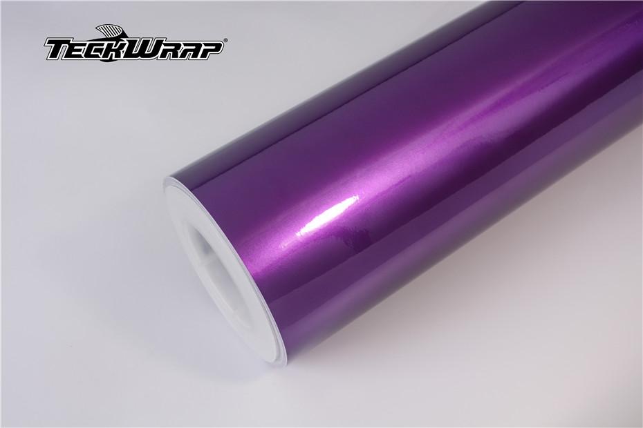 水晶糖果紫汽车保护膜