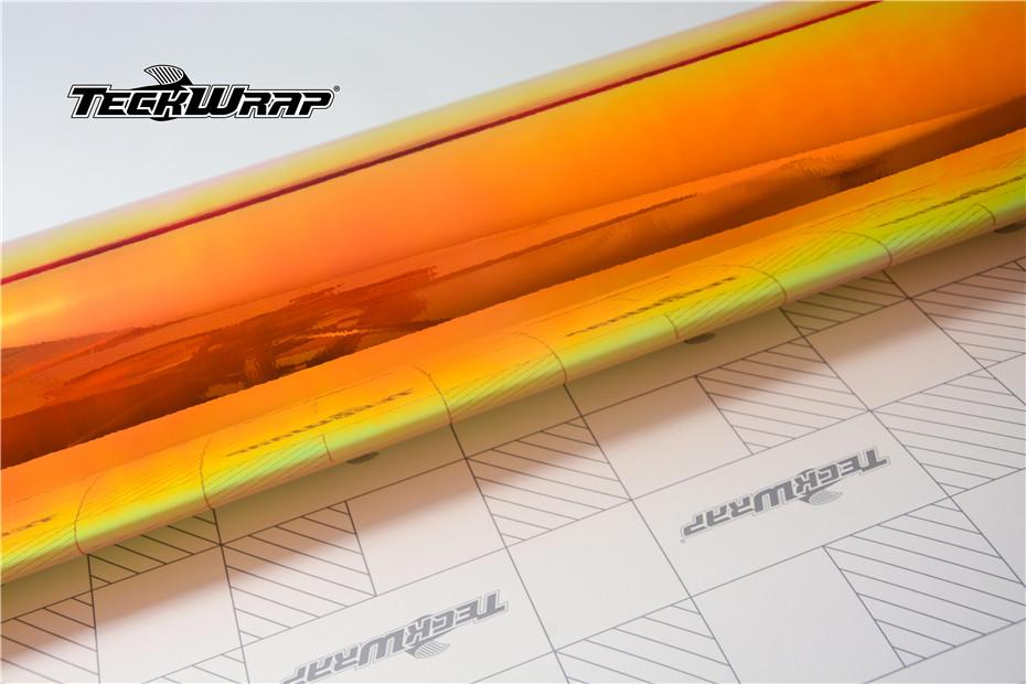 七彩电镀橙汽车保护膜