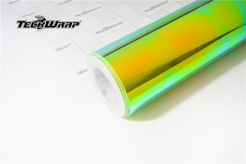 七彩电镀绿汽车保护膜