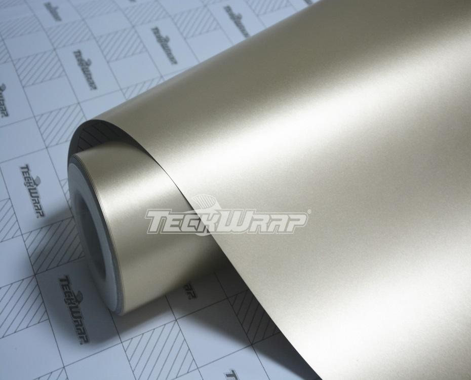 亚面金属土豪金汽车保护膜
