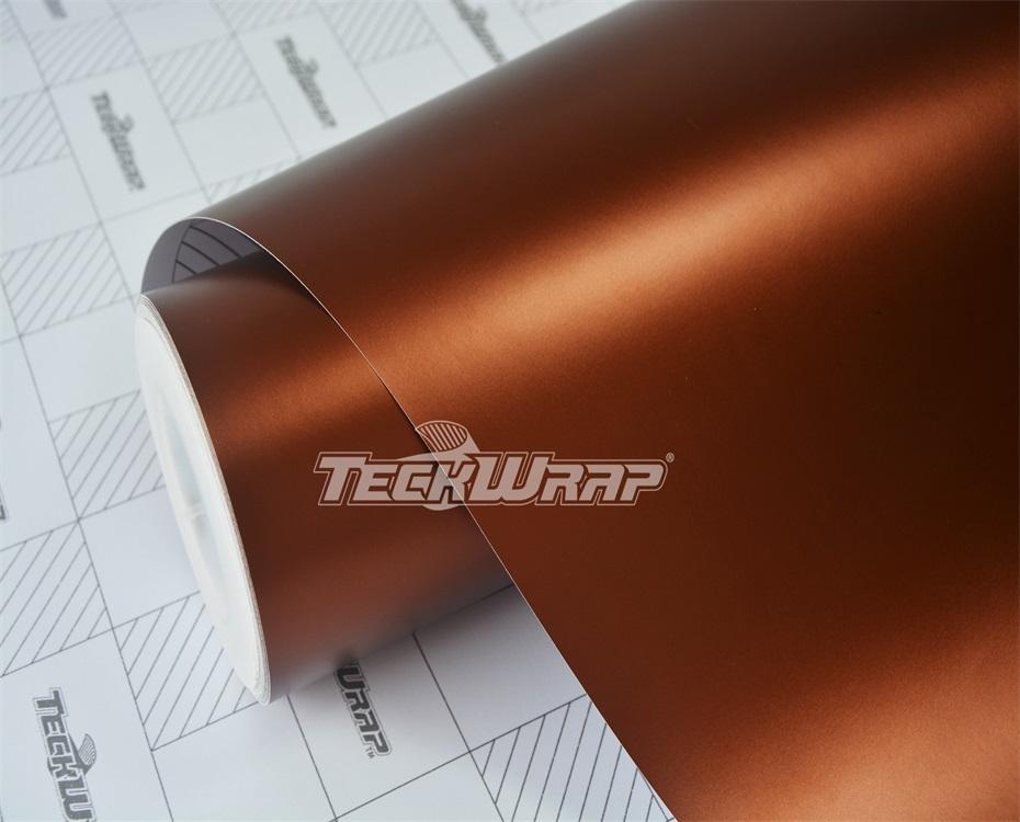 亚面金属棕汽车保护膜