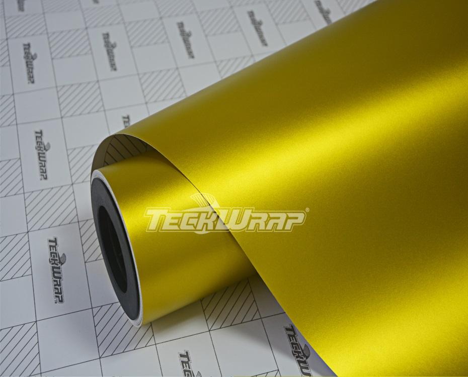 亚面金属金汽车保护膜