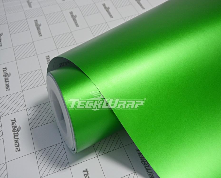 亚面金属苹果绿汽车保护膜