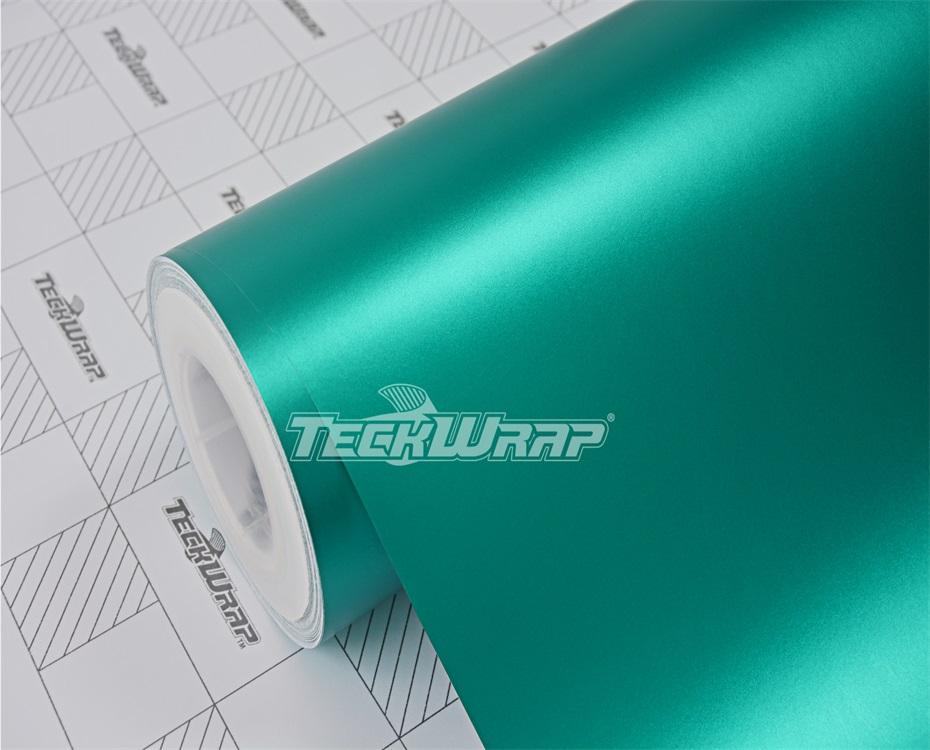亚面金属湖水绿汽车保护膜