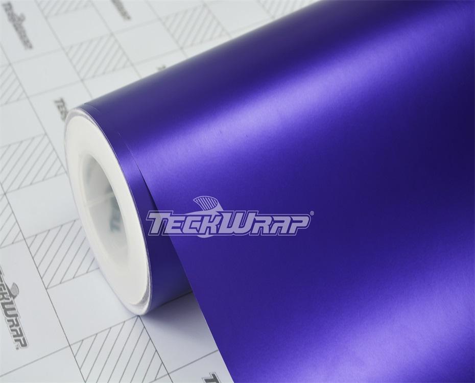 亚面金属紫汽车保护膜