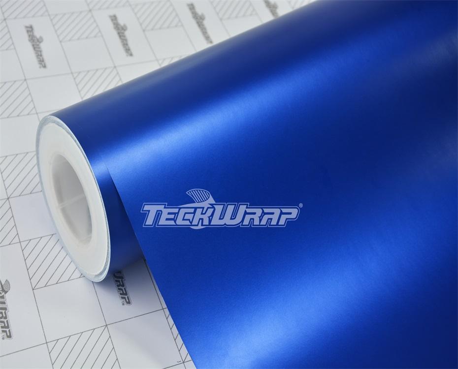 亚面金属蓝汽车保护膜
