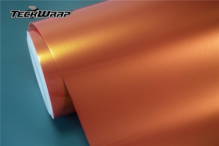 珊瑚橙汽车保护膜