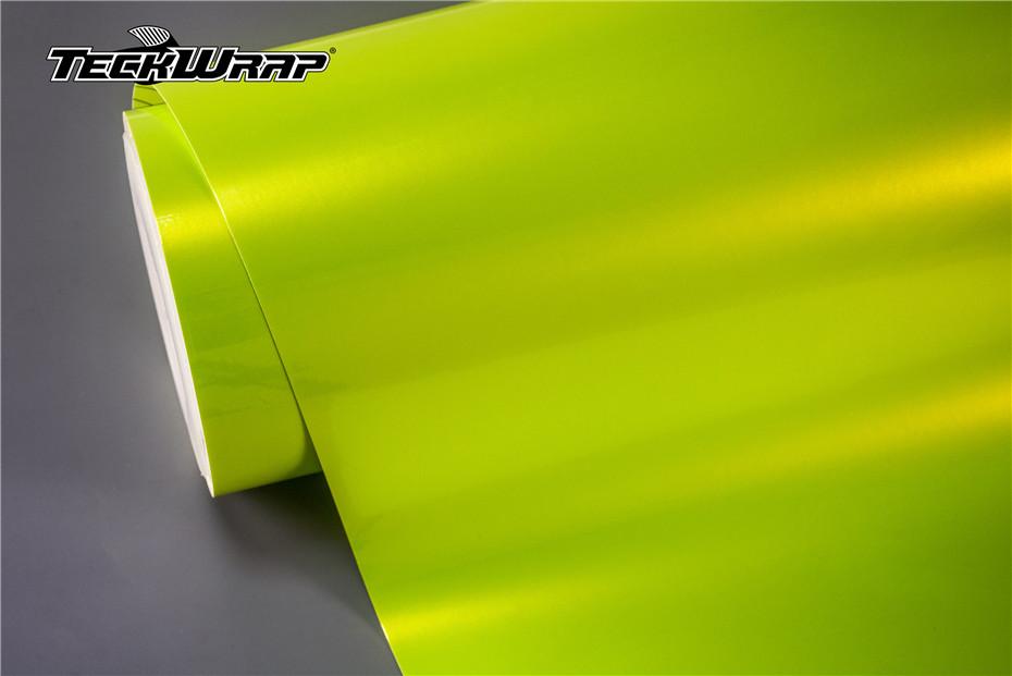 柠檬黄汽车保护膜
