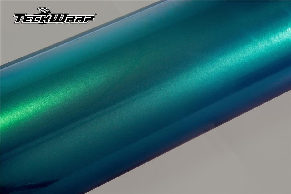 超亮金属翡翠绿汽车保护膜