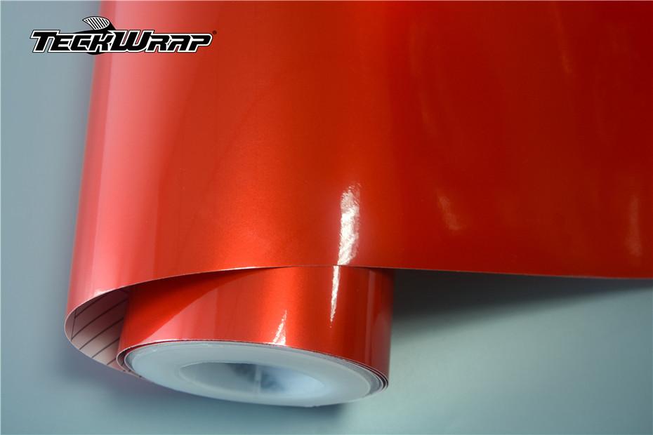 RB01超亮金属炽热红心汽车保护膜