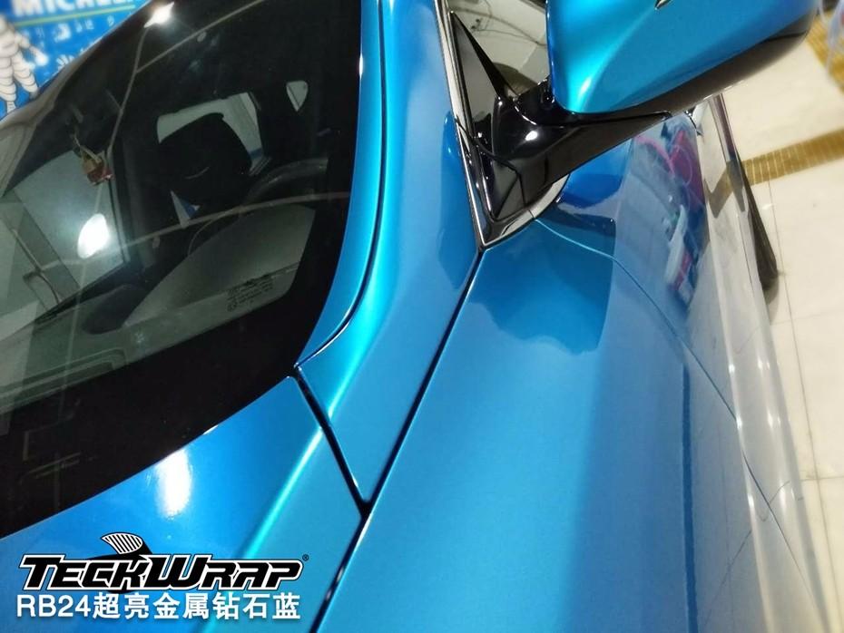 钻石蓝汽车保护膜