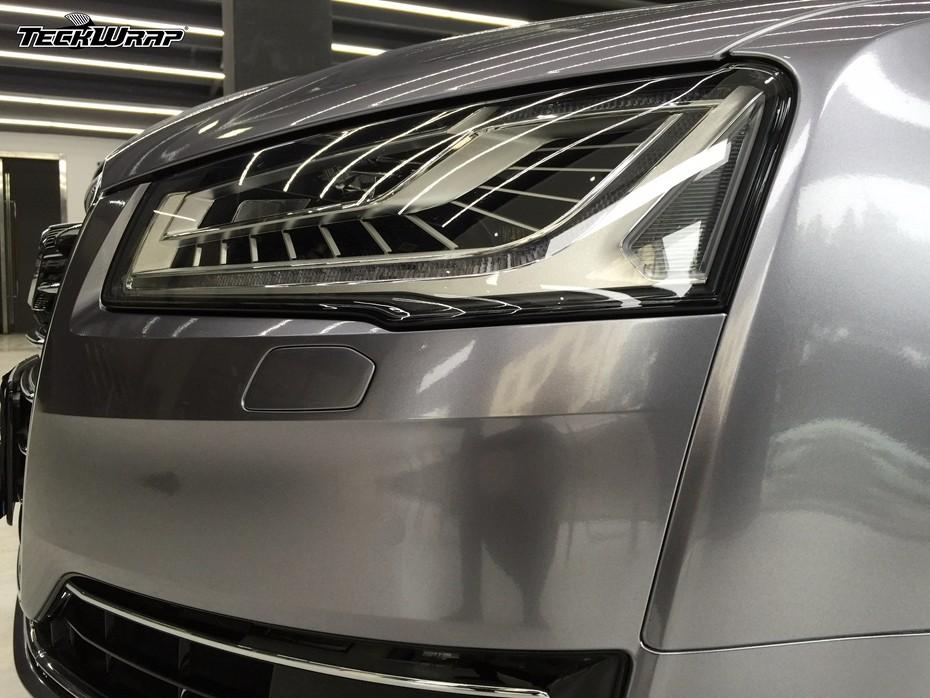超亮金属碳灰汽车隐形车衣