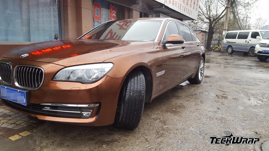 琥珀棕汽车隐形车衣