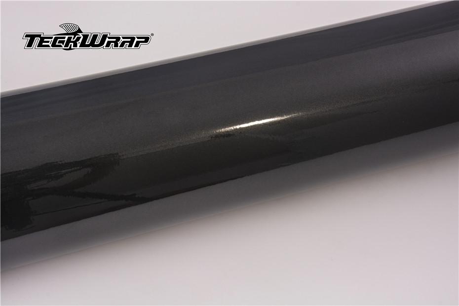 MT01G亮面小珠光金属深空黑汽车隐形车衣