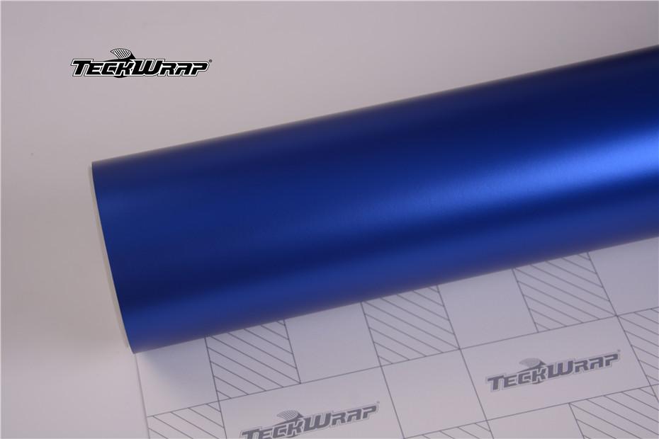 绸缎金属蓝汽车保护膜