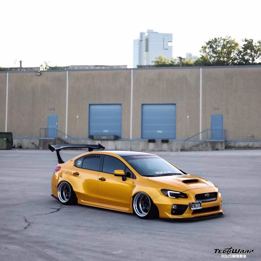 斯巴鲁汽车改色