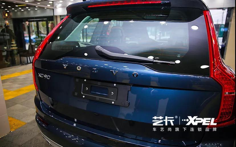 沃尔沃XC90装贴隐形车衣案例