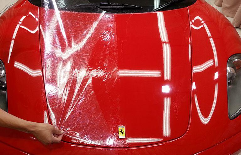 车身一次贴膜,保护汽车漆面十年_隐形车衣神奇的功能