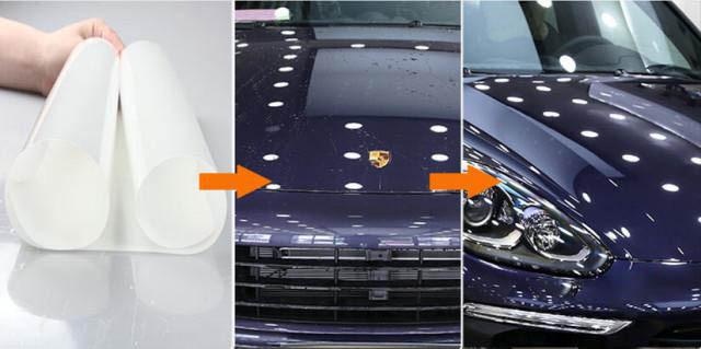隐形车衣解决爱车剐蹭处与验车,汽车贴膜多少钱